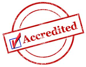 Image result for accredited